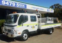 Dual Cab 4.4m Tray